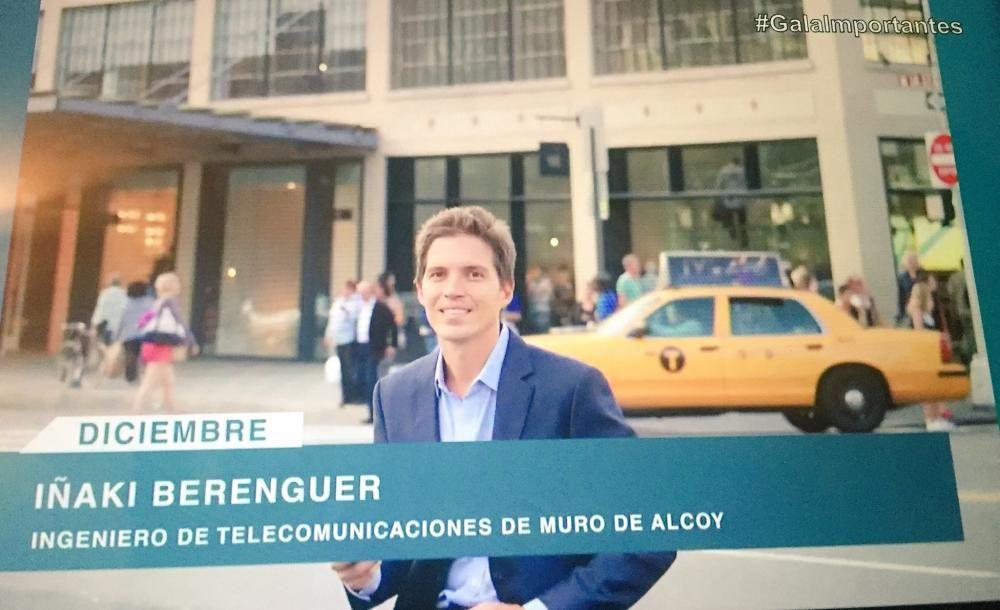 Iñaki Berenguer en Nueva York
