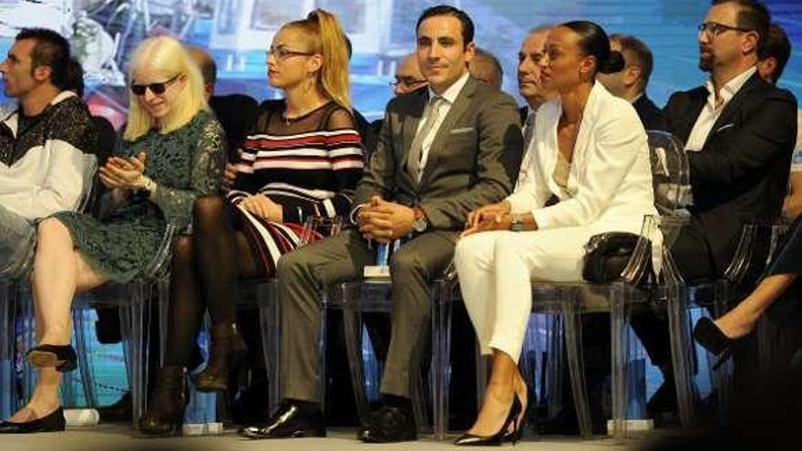 Peleteiro y Campos reciben su premio como mejores deportistas de 2018