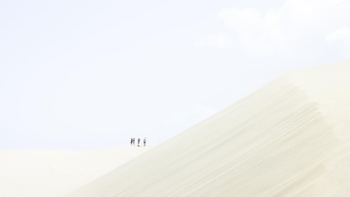Imágenes sobre la arena