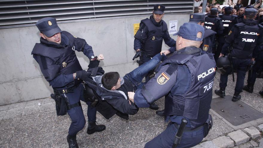 Jutjaran 27 policies nacionals i un guàrdia civil per les càrregues de l'1-O a Girona i Aiguaviva