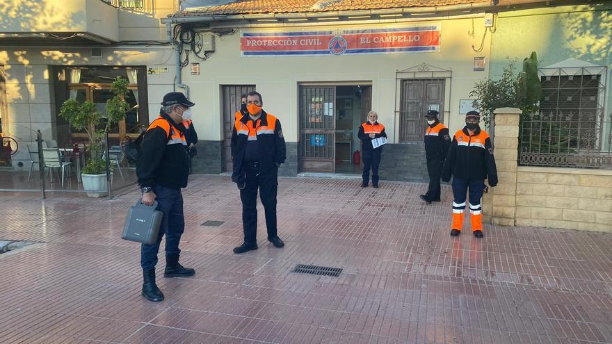 El Campello duplica el número de voluntarios de Protección Civil desde el inicio de la pandemia