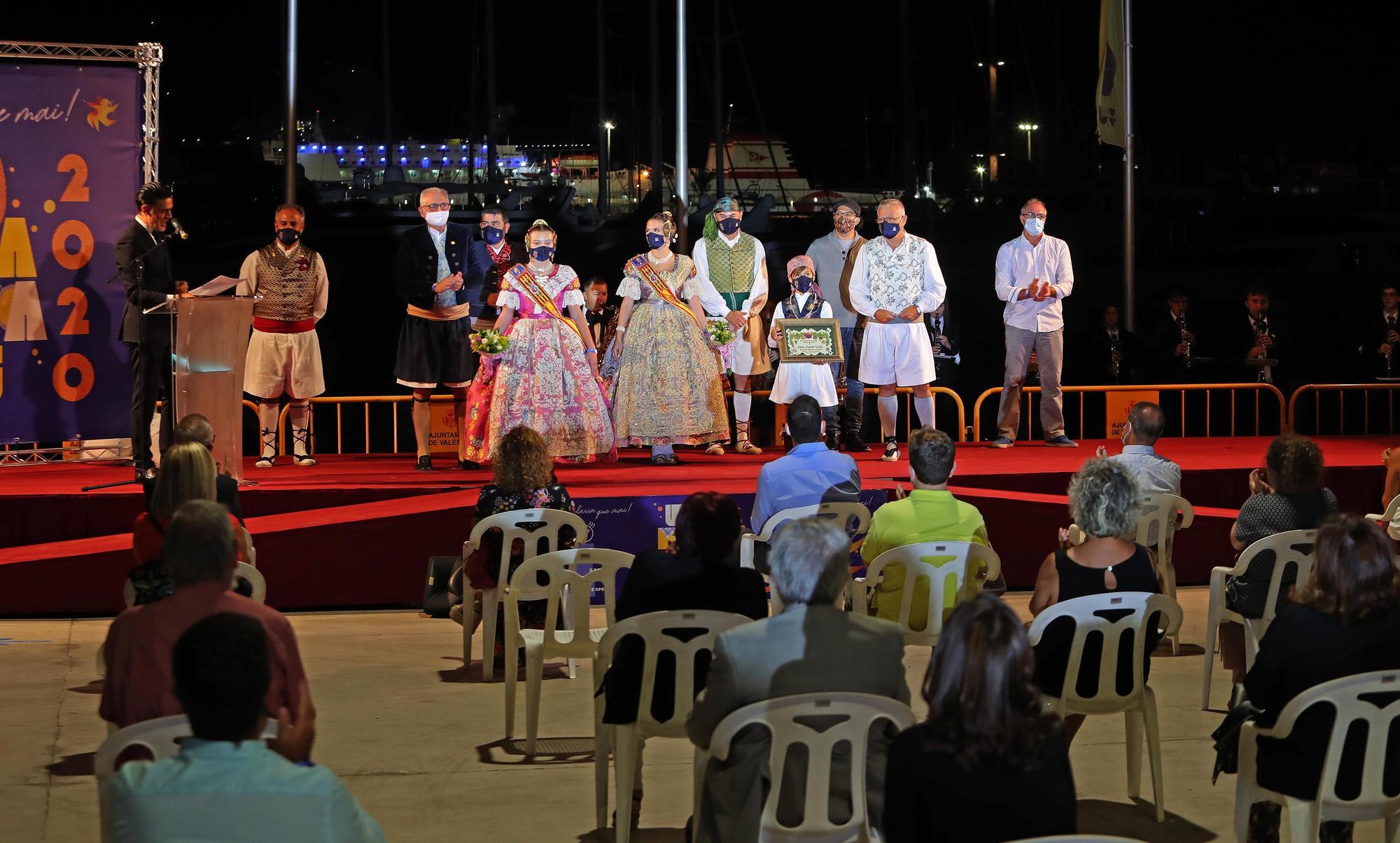 Inauguración de la Festa per a Tots de las Fallas de Especial con medidas de seguridad