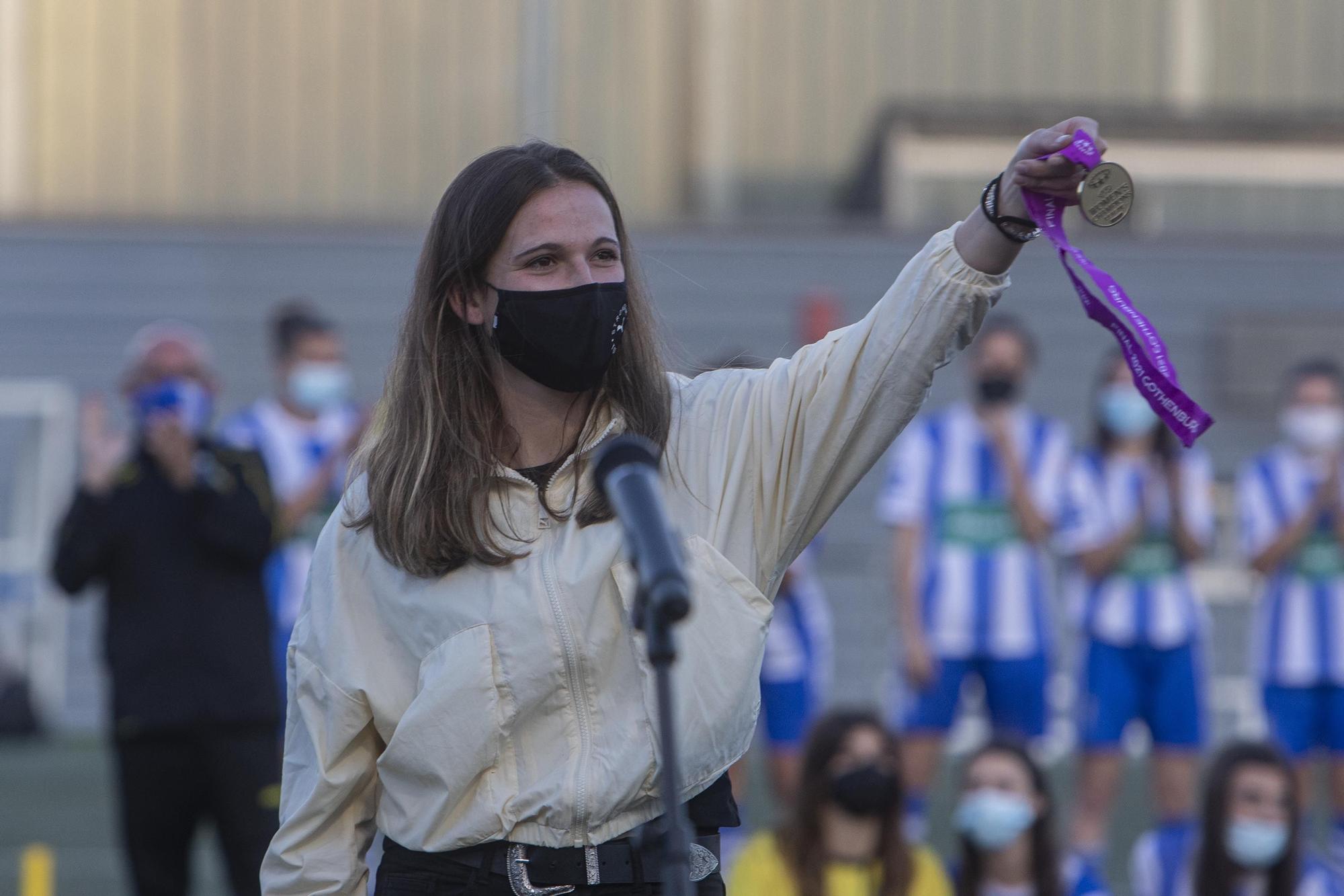 El Cassà homenatge a Laia Codina