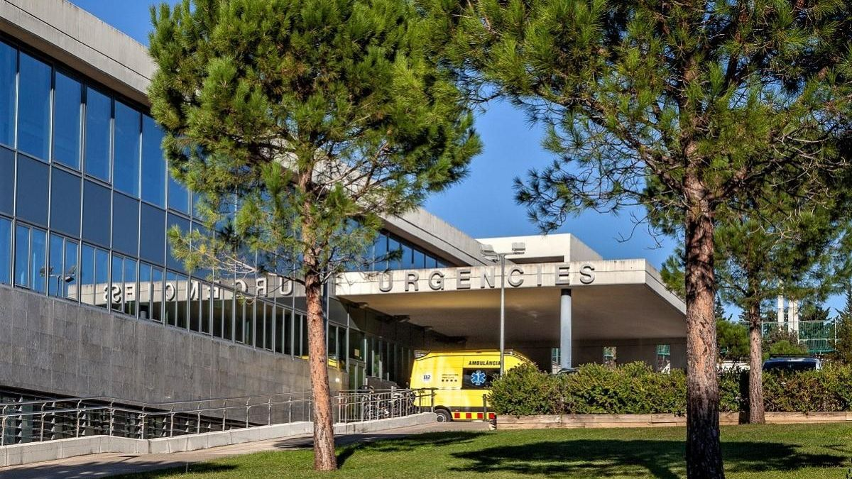 Entrada d'Urgències de l'Hospital de Figueres.