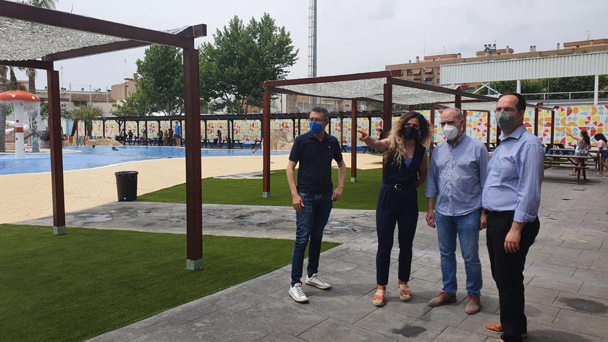 Vuelve la piscina lúdica de Aldaia con novedades para todos los públicos