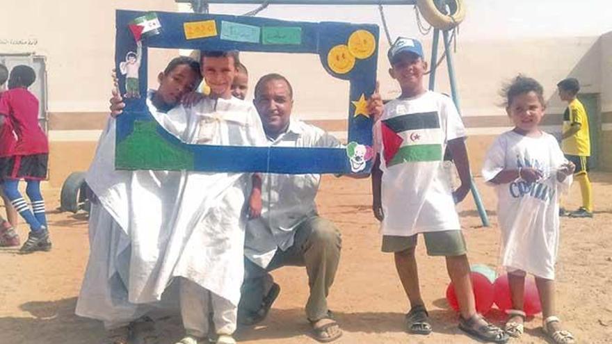Programa 'Vacances en pau' para los refugiados saharauis