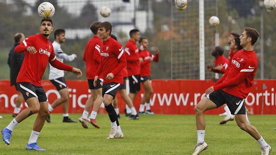 El Sporting inicia la negociación para mejorar el contrato a Gragera