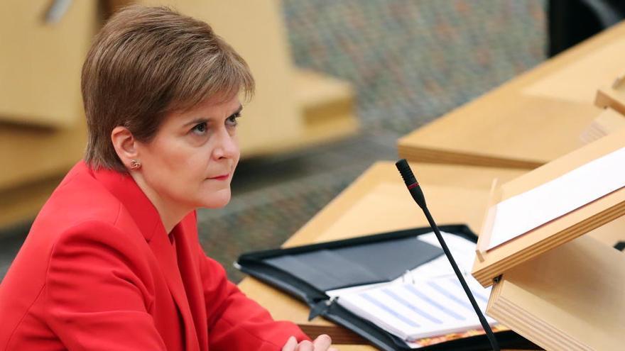 Sturgeon dice que el Brexit se concreta en contra de la voluntad de Escocia