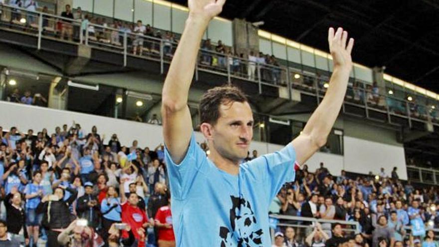 La particular anécdota del delantero argentino en Mareo: Calandria, goles y asado llegados de Leganés