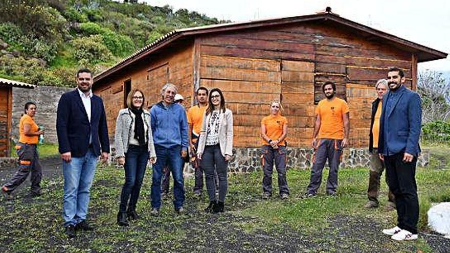 La finca de El Viso, zona experimental para los emprendedores de la agricultura