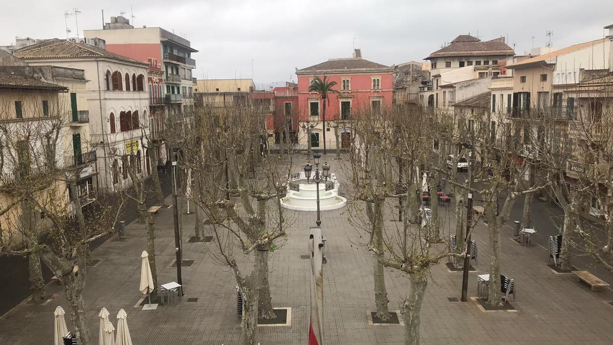 Plaça Major de Sa Pobla