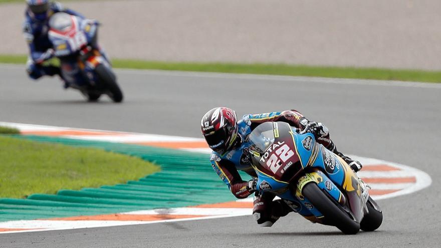Sam Lowes no cede y logra su cuarta pole del año en Moto2