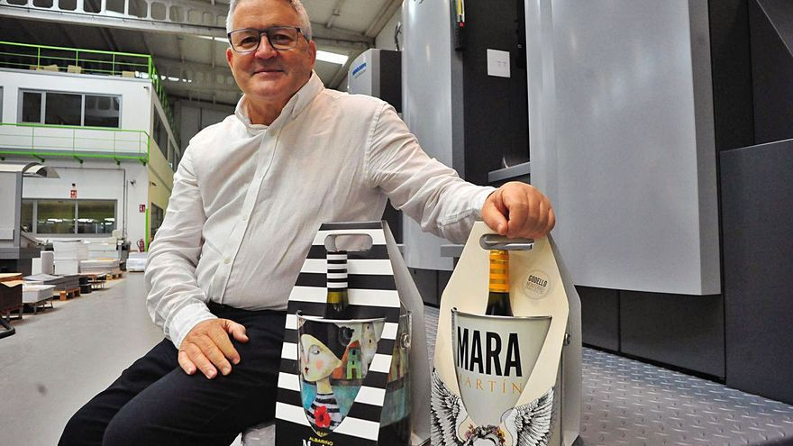 Gráficas Salnés gana su segundo Liderpack por un diseño para Martín Códax