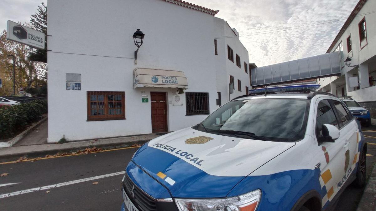 Instalaciones de la Policía Local de Tacoronte.