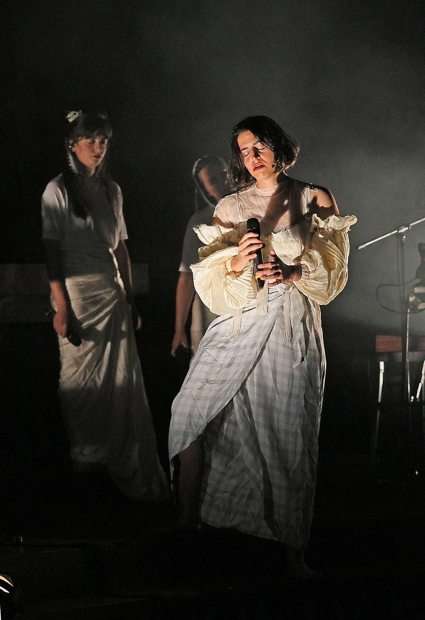 Concert de Maria Arnal a la Seu de Manresa