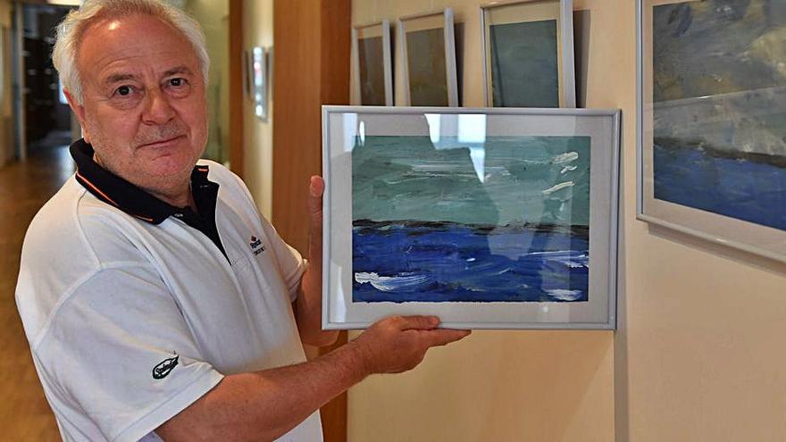 Pablo Galego, en el Colegio de Médicos