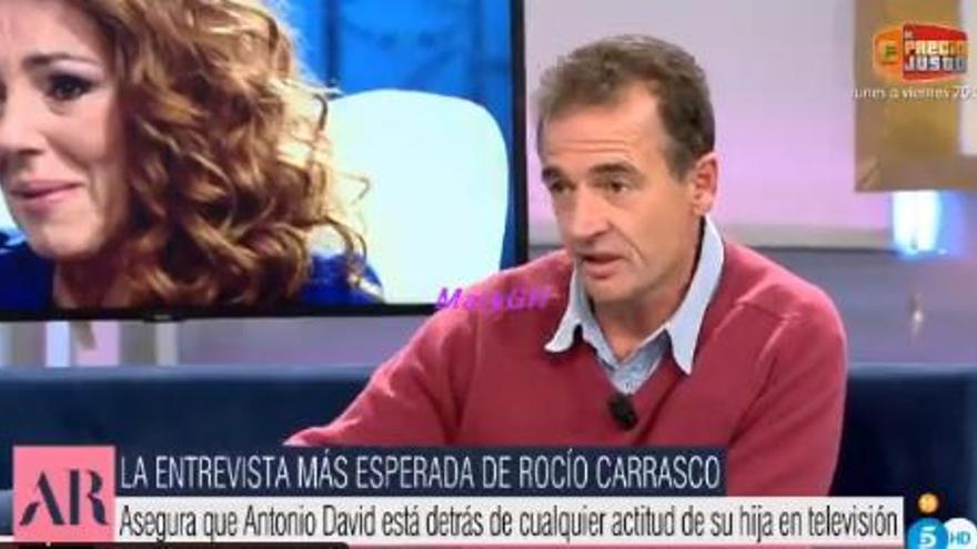 """""""Perro no come perro"""": la respuesta de Rocío Carrasco a Lequio"""