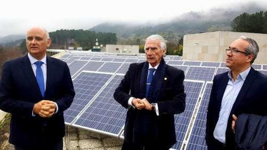 El Balneario de Laias ahorra un 15% con paneles solares