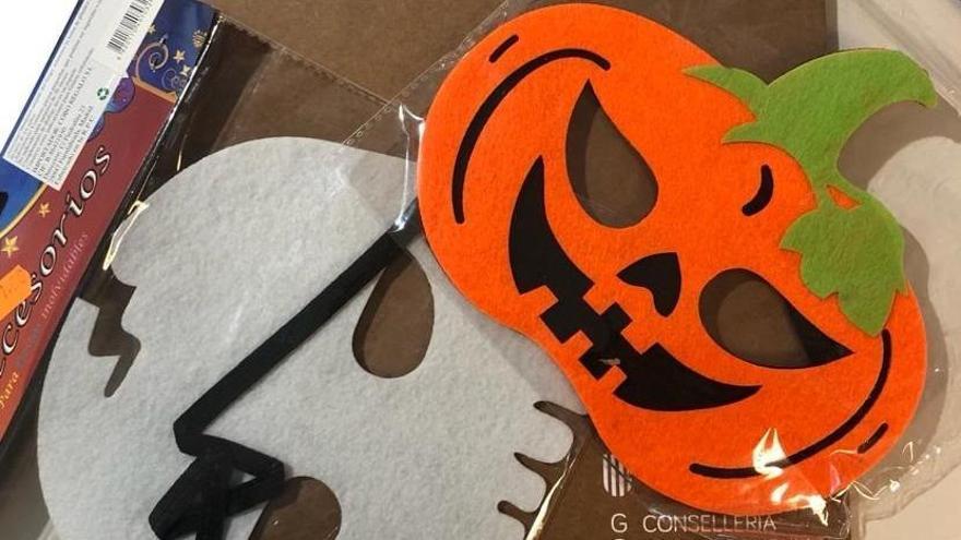 Consumo retira 1.331 productos de Halloween por incumplir la normativa