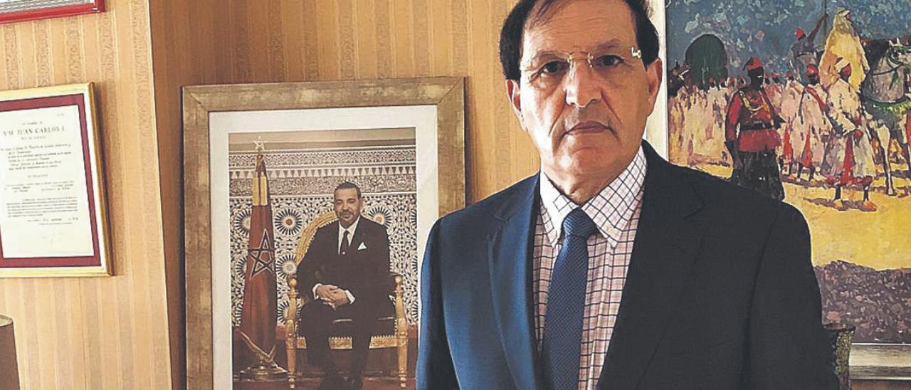 Ahmed Moussa, cónsul de Marruecos en Canarias. | | LP/DLP