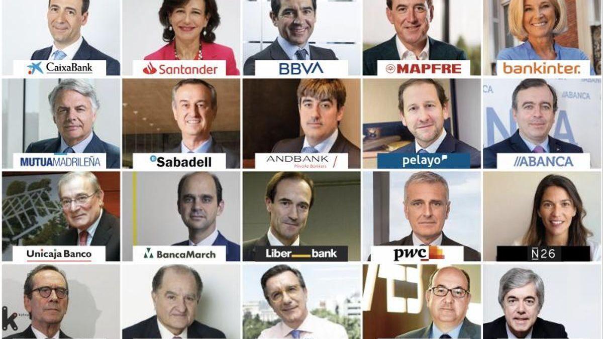 El 'Top 20' dels directius més rellevants del sector financer a Espanya