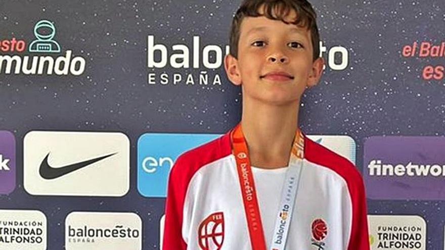 Rubén Hernández, a la Selección Española U12