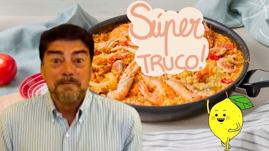 El truco del alcalde de Alicante para que el arroz quede suelto