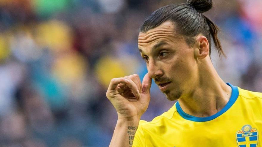Ibrahimovic no irá al Mundial