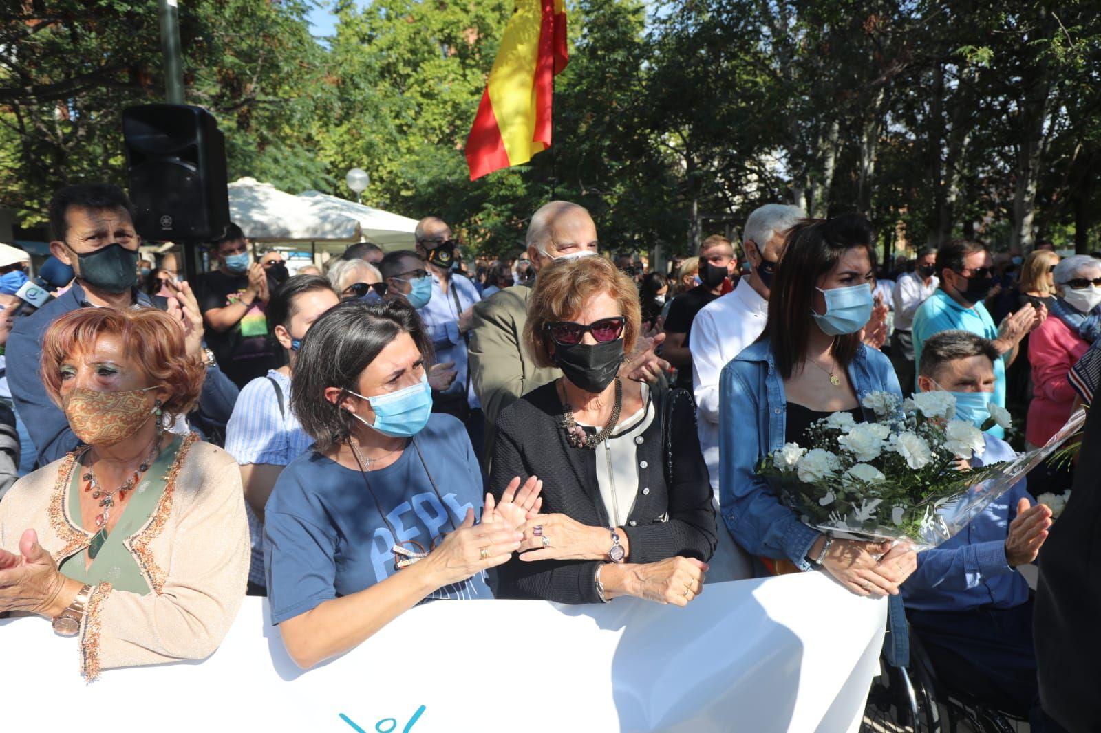 Homenaje a las víctimas del terrorismo en Zaragoza