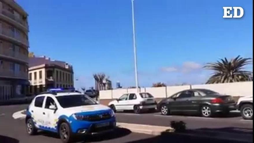 La Policía Local de Tazacorte anima a los vecinos este domingo con música y baile