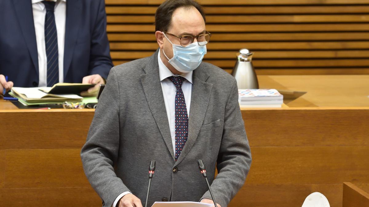 El conseller Vicent Soler.