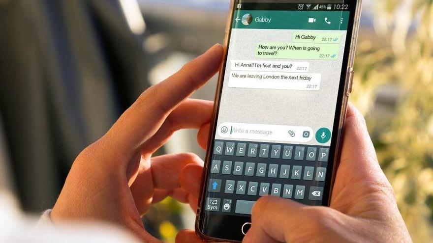Les imatges que s'autodestrueixen, de camí cap a WhatsApp