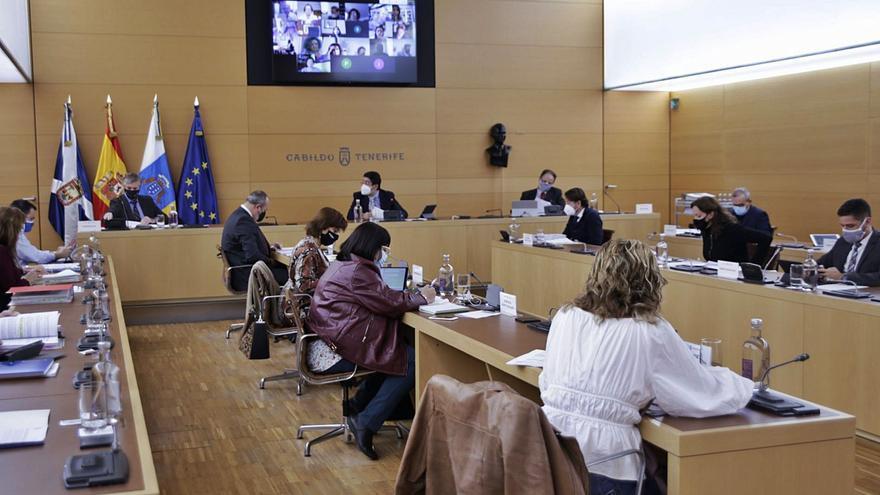 El gobierno insular sólo pudo ejecutar 1 de cada 2 euros de inversión en 2020