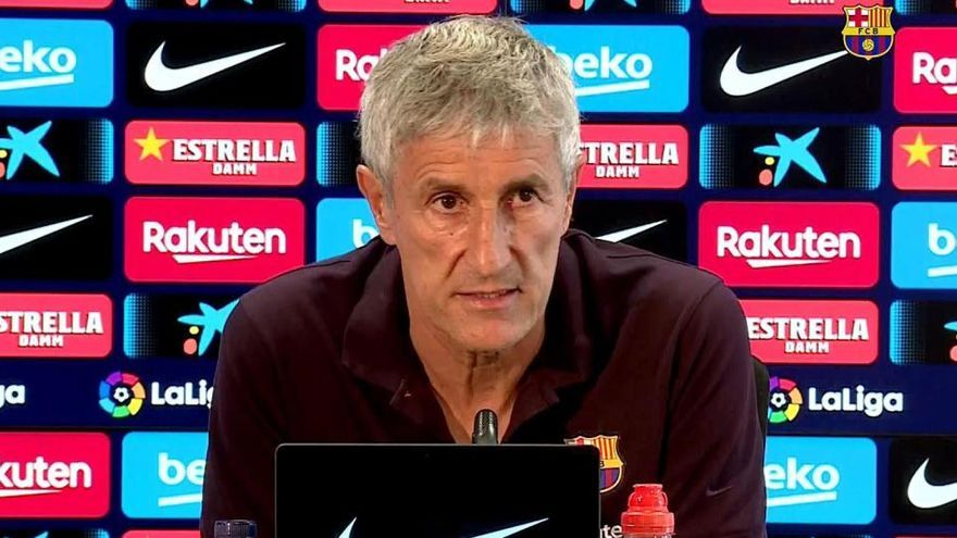 Setién denunciarà el Barça per la liquidació del seu contracte