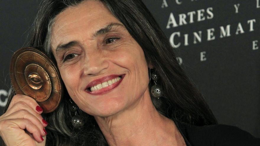 Angela Molina será premiada en el festival Evolution