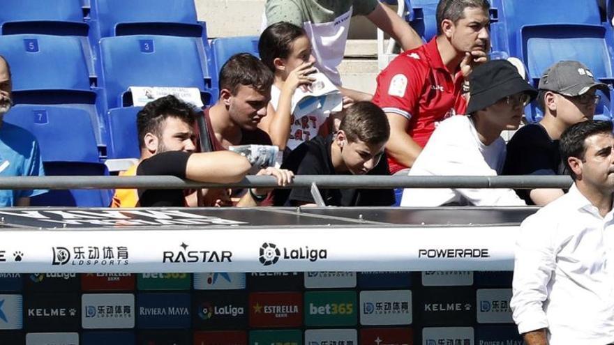 El Valladolid deixa més tocat l'Espanyol de David Gallego