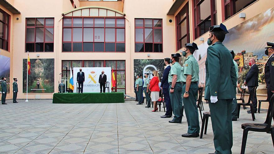 La Guardia Civil estrena instalaciones para su destacamento de Tráfico