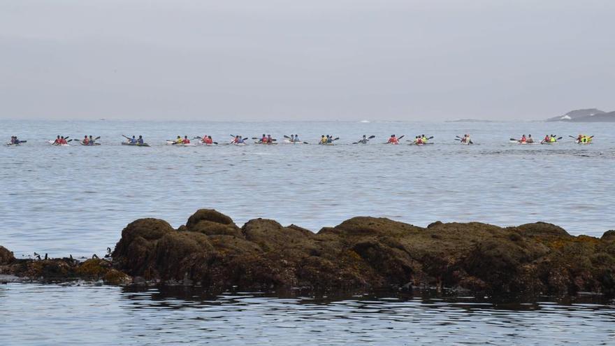 300 palistas en la Ocean Race A Coruña 2020