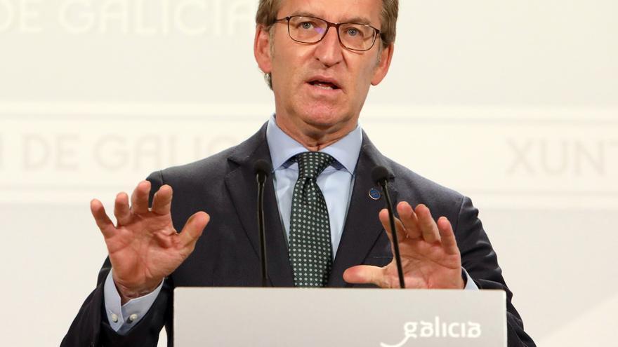 """Feijóo acusa al Gobierno de """"torpedear"""" sus intentos de combatir la pandemia"""