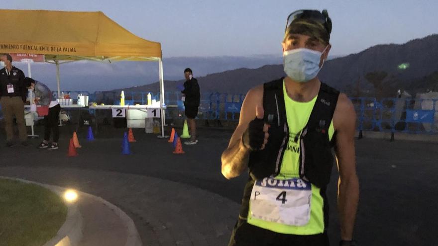 Santi Mezquita, quinto en el Campeonato de España de Trail Running