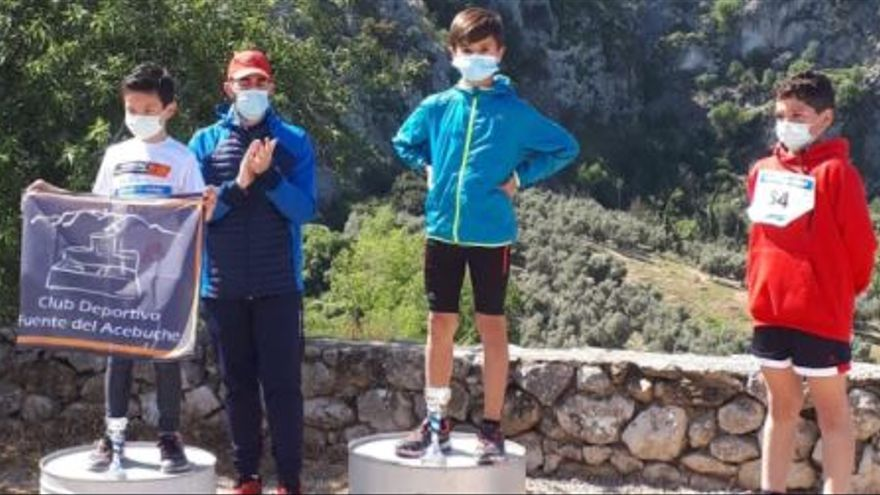 Lucas Márquez se proclama campeón del Chamizo Trail Kids