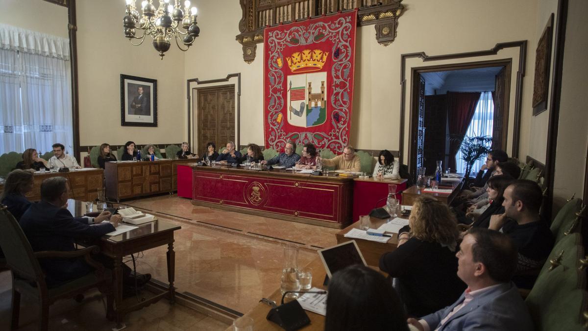 Pleno del Ayuntamiento de Zamora