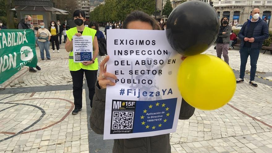 Los empleados públicos temporales anuncian paros y huelgas por el uso abusivo de Las contrataciones temporales