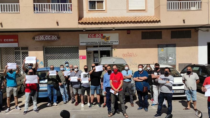 CC OO exige a la Inspección de Trabajo investigar el accidente mortal de un trabajador en la feria de Torrevieja