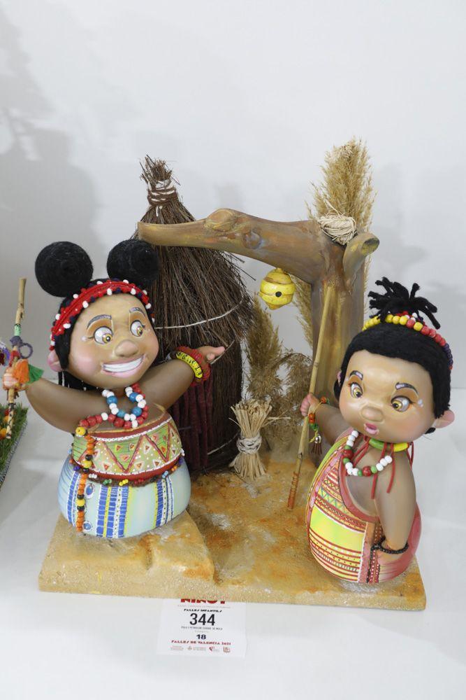 Fallas 2021: Ninots de las secciones Decimo cuarta a Vigésimo segunda (infantiles)