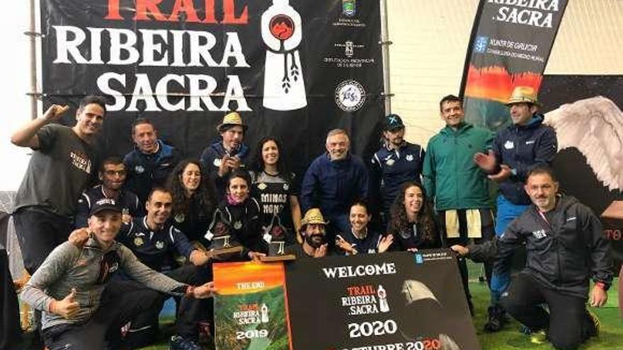 El GTR exhibe músculo en el Trail Ribeira Sacra 2019