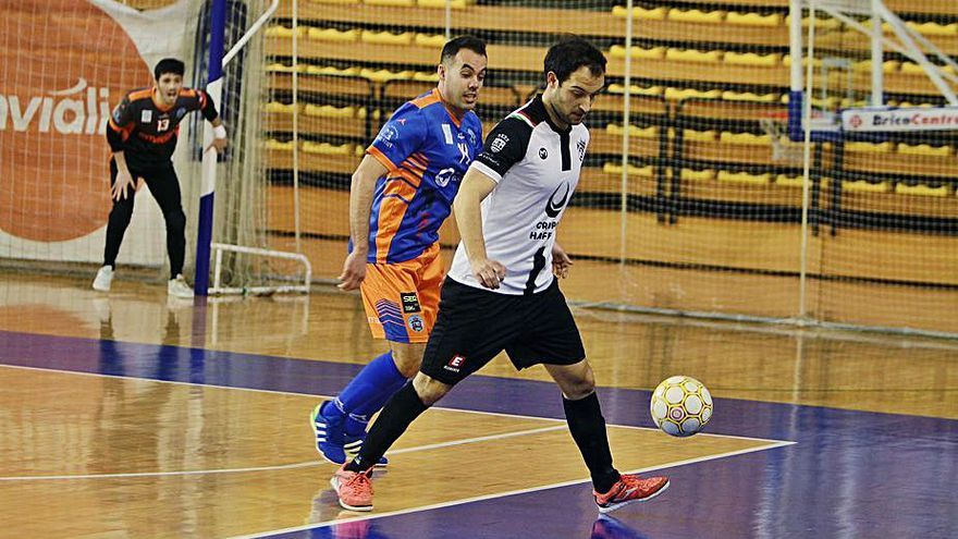El Inversia A Estrada Futsal recibe un severo correctivo del Sala Ourense