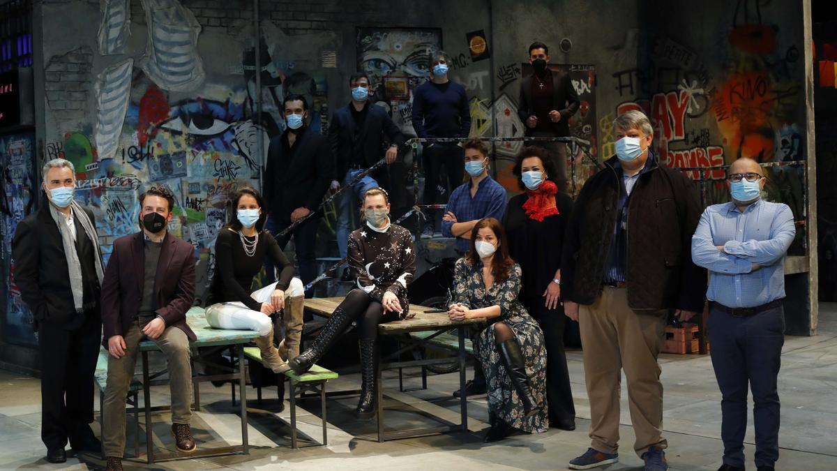 El equipo de 'Falstaff' volverá a Les Arts en el mes de marzo.