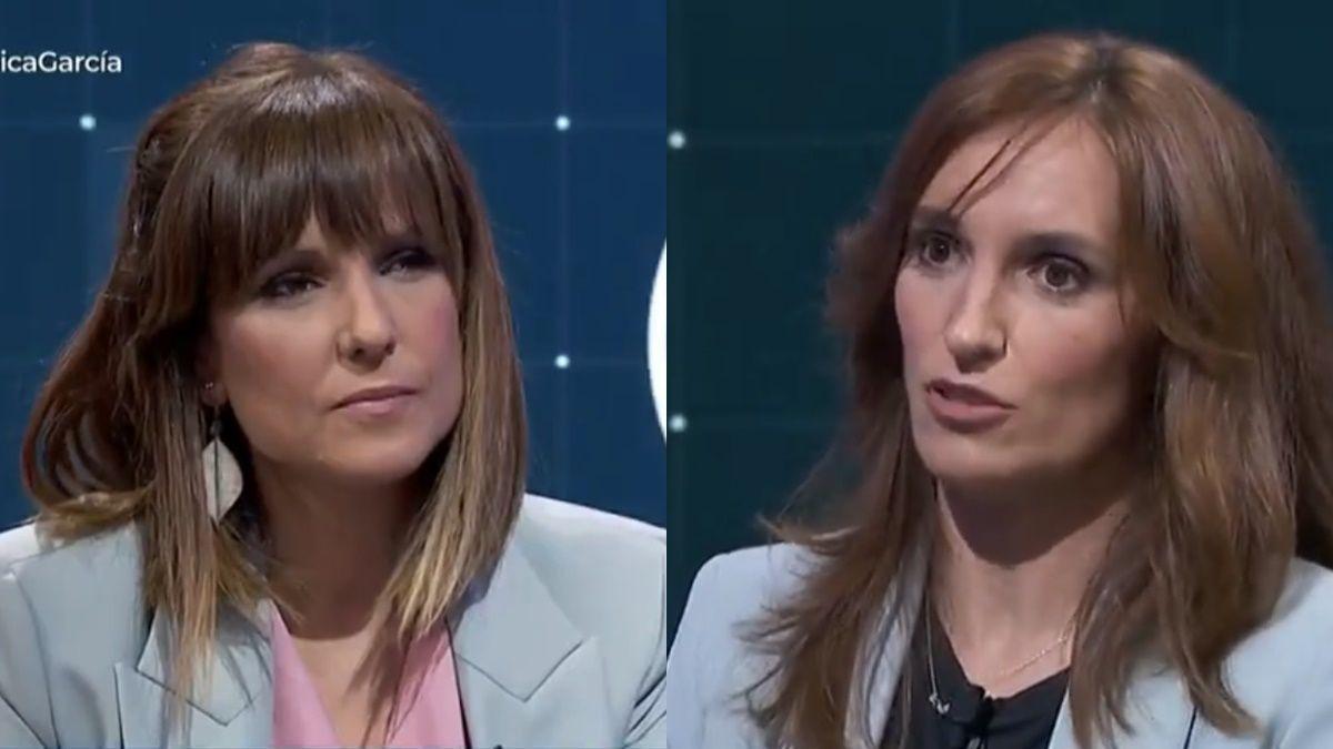 Mónica López y Mónica García en 'La hora de La 1'.