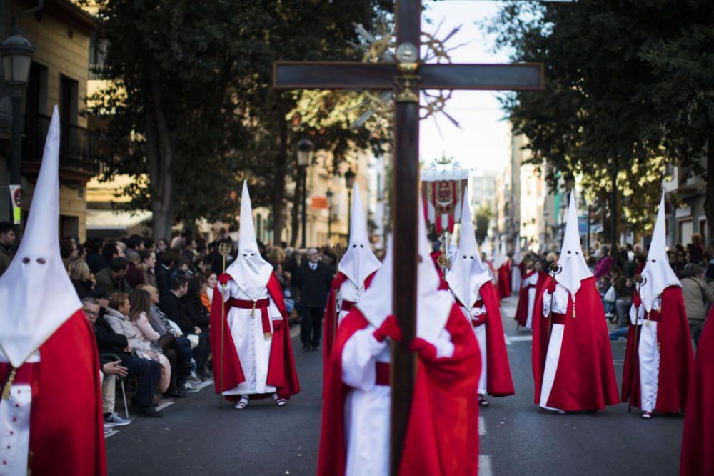Imágenes de la Semana Santa Marinera, Santo Entierro, del 2018